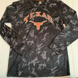 Colosseum Texas athletic shirt youth 16-18 GUC